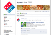 Facebook Domino Pizza
